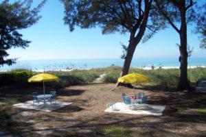 Gulf Front Patios Bamboo Apartments Anna Maria Island, Florida