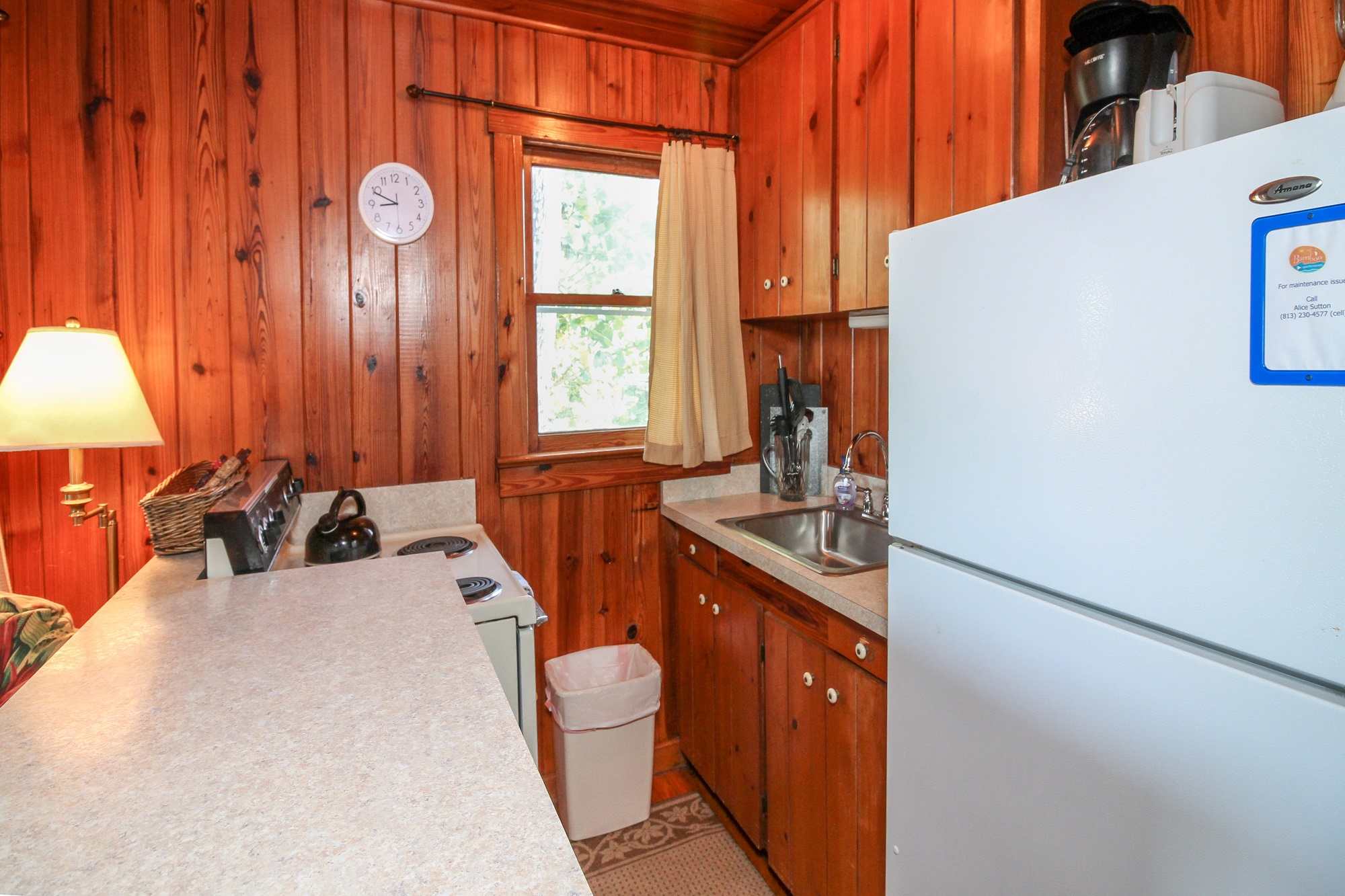 Cottage 2 Kitchen Bamboo Apartments Anna Maria Island