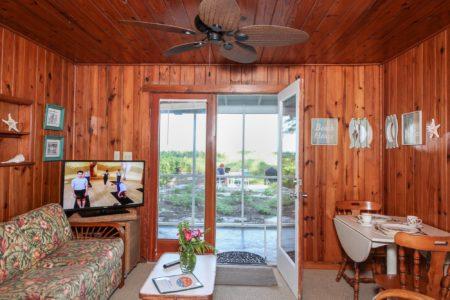 Cottage 2 Living Room Bamboo Apartments Anna Maria Island