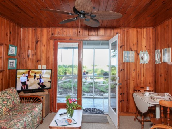 Duplex Cottage C2 living room Bamboo Apartments Anna Maria Island