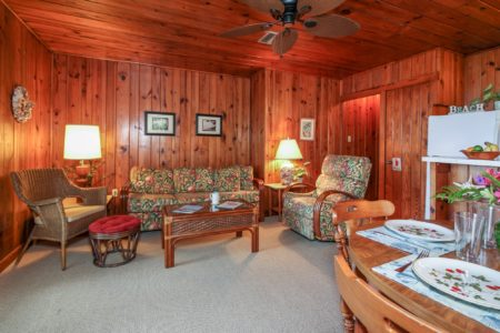 Cottage 1 Bamboo Living Area View 1