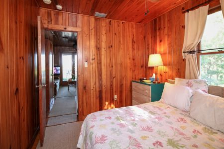 Cottage 2 Bamboo Bedroom View 2