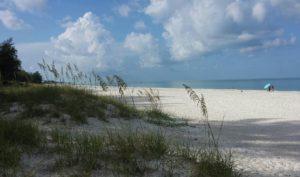 Morning on the beach Bamboo Apartments Anna Maria Island, Florida