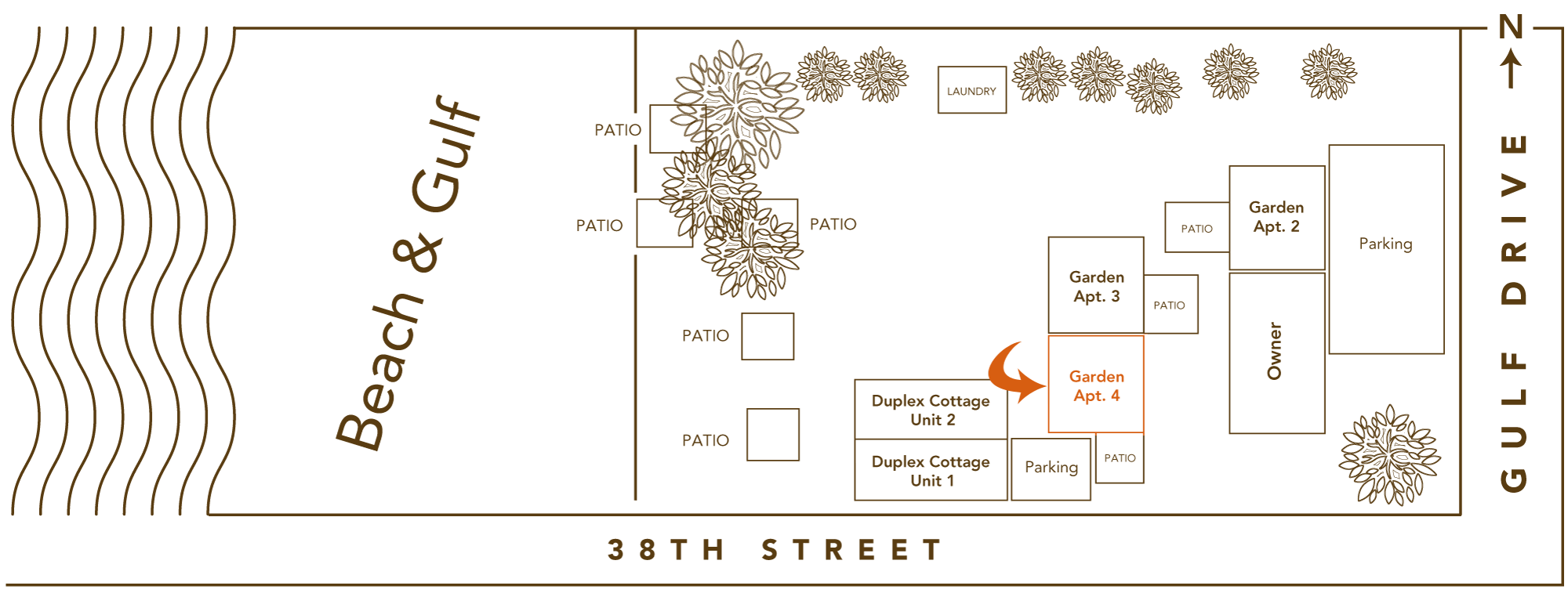 Bamboo Apartments Site Plan